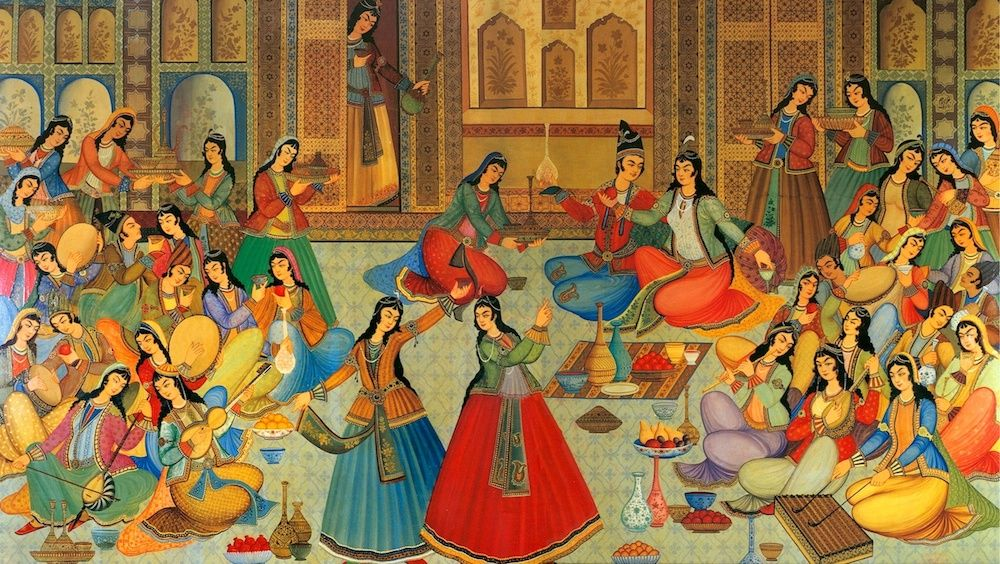 Musicoterapia persa 1000